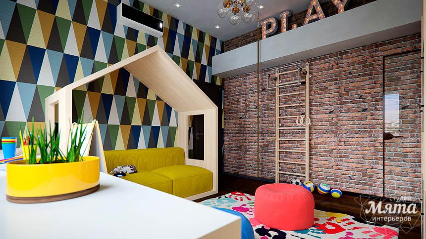 Дизайн интерьера детской в стиле лофт в Краснодаре img1507624005