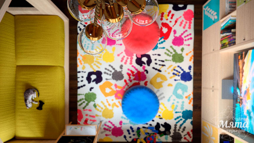 Дизайн интерьера детской в стиле лофт в Краснодаре img1967702279