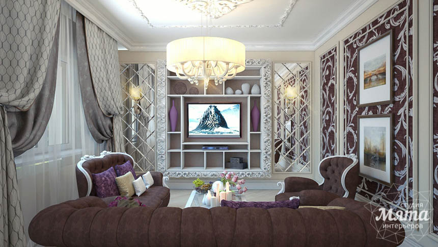 Дизайн интерьера коттеджа в Сочи img1812285051