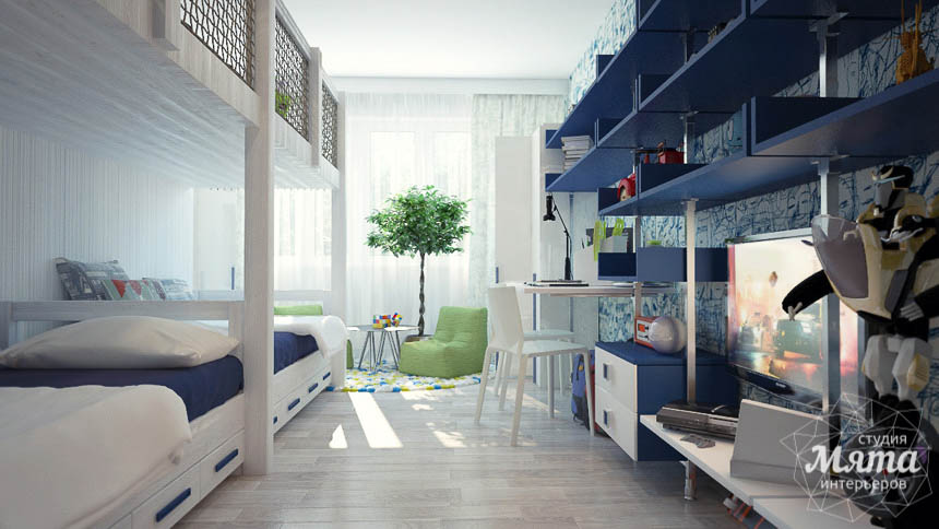 Дизайн интерьера трехкомнатной квартиры Шейнкмана 121 img1646516426