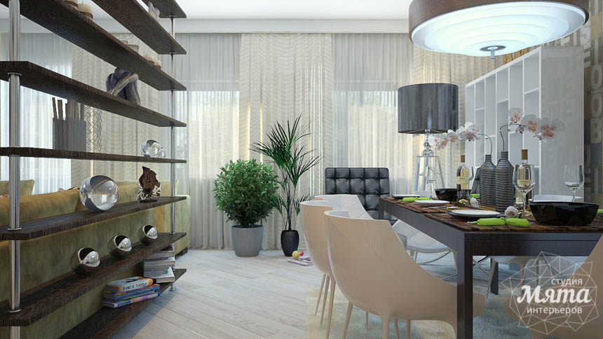 Дизайн интерьера трехкомнатной квартиры Шейнкмана 121 img699646242