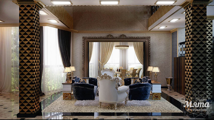 Дизайн интерьера коттеджа в Краснодаре img696784560