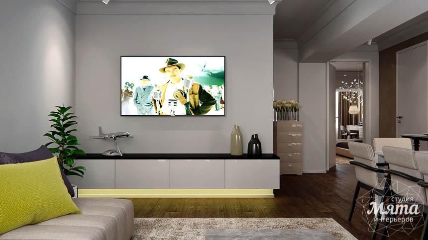 Дизайн интерьера двухкомнатной квартиры в Москве img1811314296