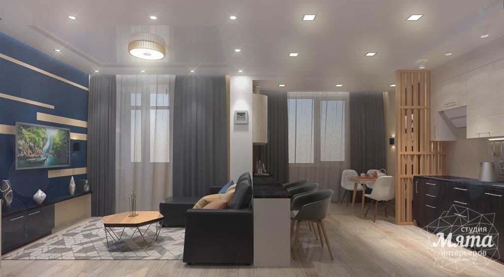 Дизайн интерьера однокомнатной квартиры в ЖК Крылов img1962325859