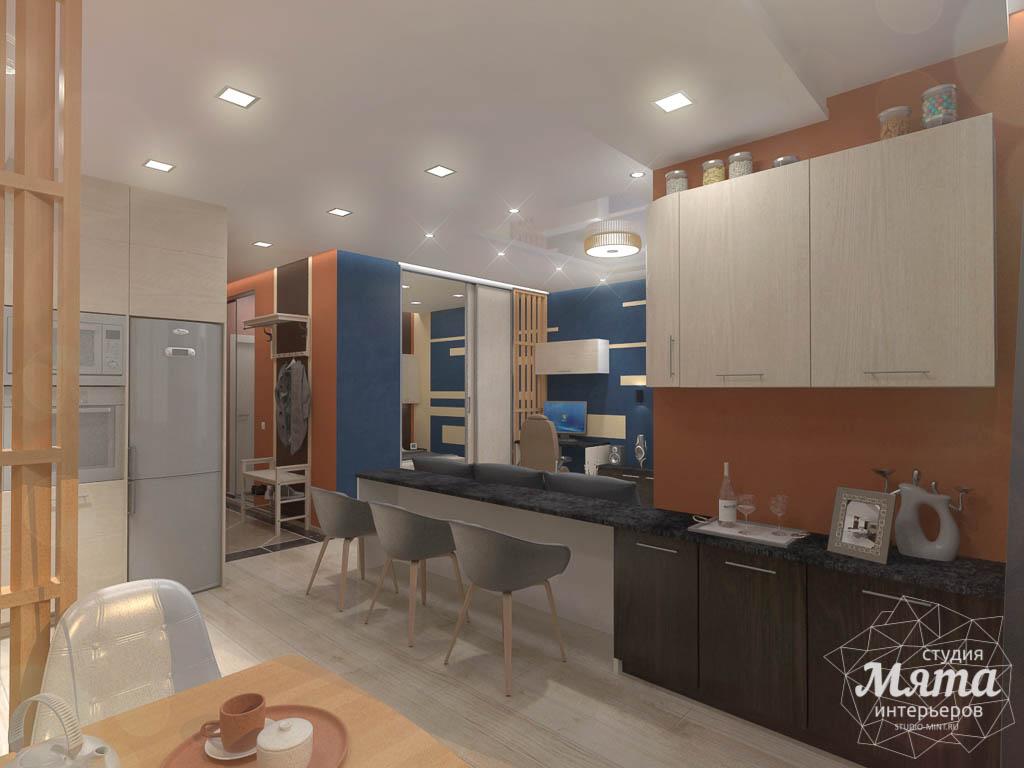 Дизайн интерьера однокомнатной квартиры в ЖК Крылов img2109167709