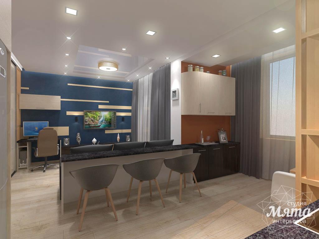 Дизайн интерьера однокомнатной квартиры в ЖК Крылов img1520115621