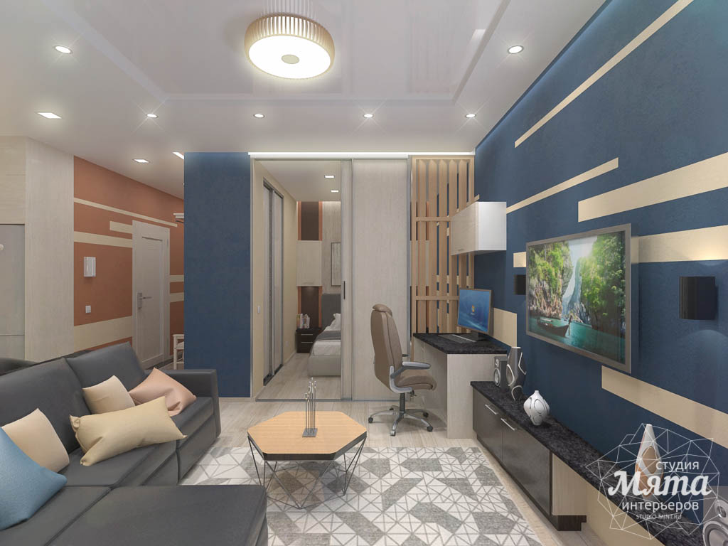 Дизайн интерьера однокомнатной квартиры в ЖК Крылов img1531022050