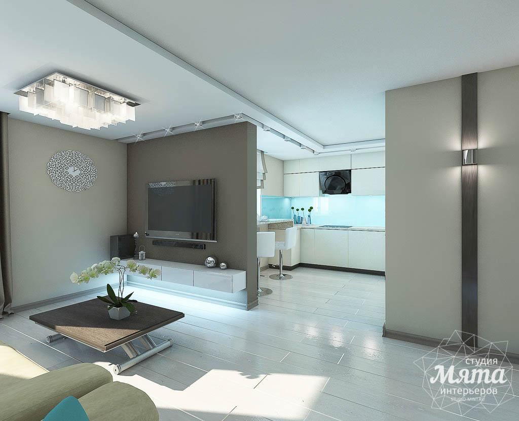 Дизайн интерьера двухкомнатной квартиры в Верхней Пышме по Успенскому проспекту 113Б img677315915
