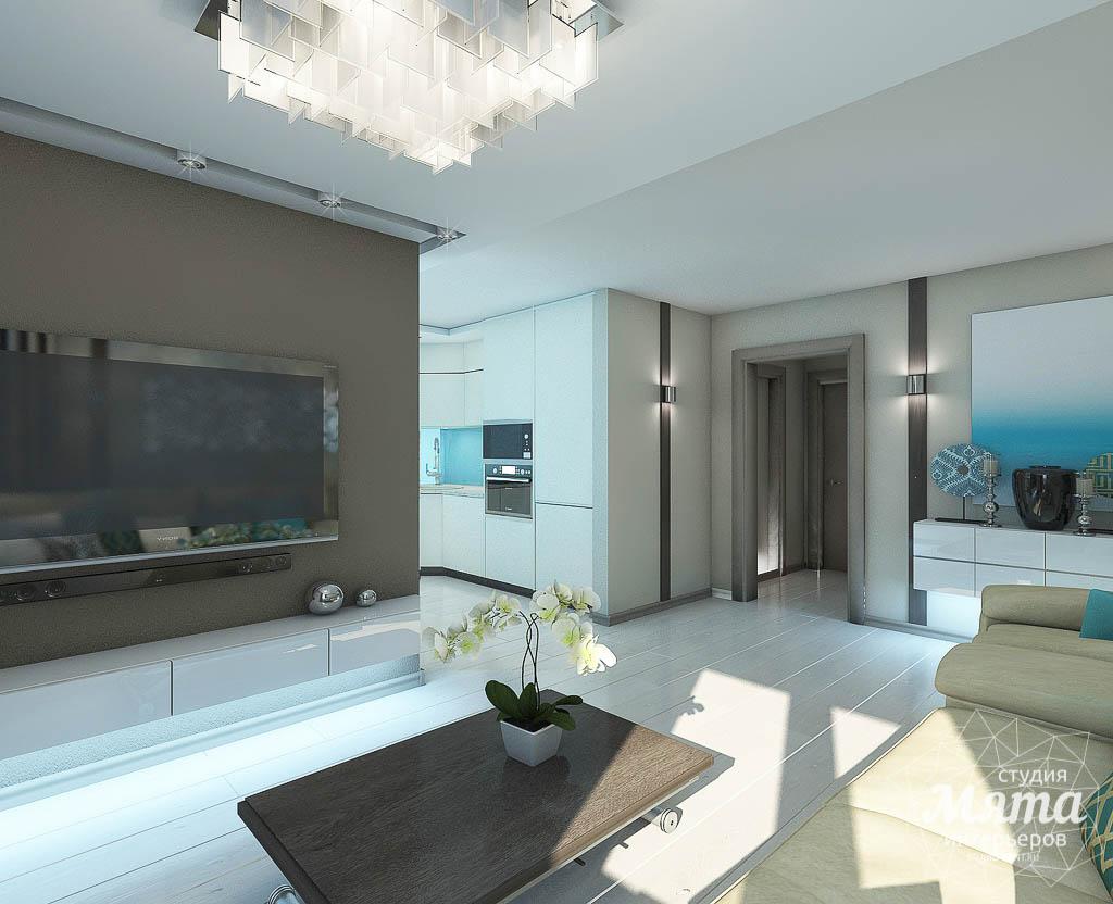 Дизайн интерьера двухкомнатной квартиры в Верхней Пышме по Успенскому проспекту 113Б img866587300