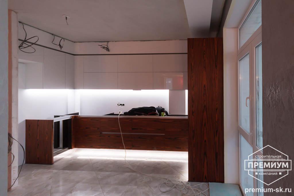 Дизайн интерьера и ремонт трехкомнатной квартиры по ул. Татищева 49 73