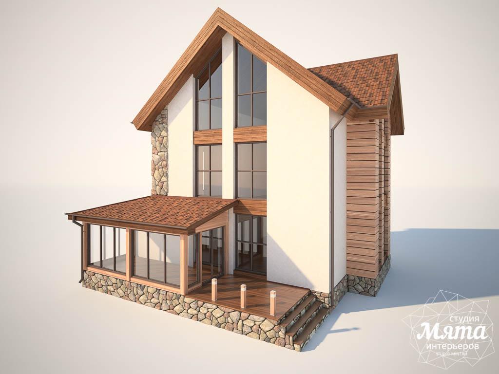 Дизайн фасада коттеджа в Хрустальном img329890164