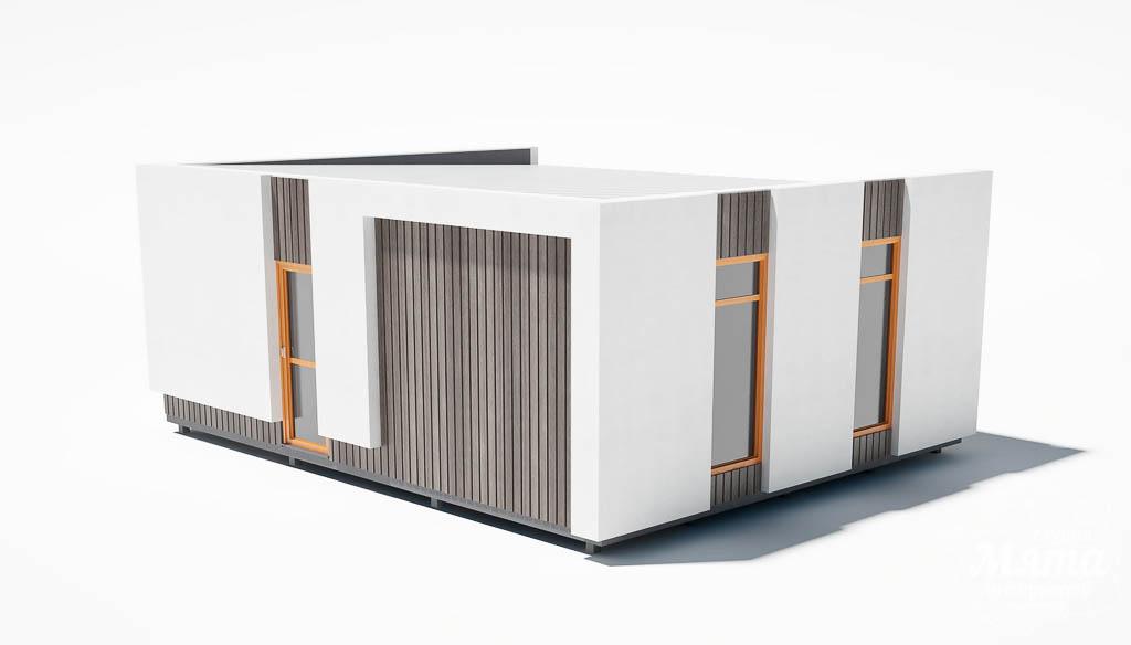 Дизайн фасада модульного дома в п. Новое Созвездие img1735017930