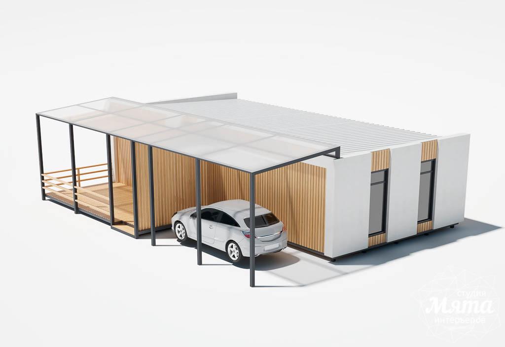 Дизайн фасада модульного дома в п. Новое Созвездие img157620112