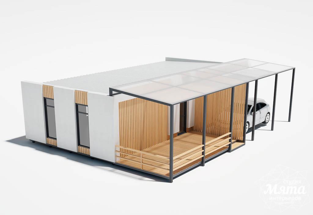 Дизайн фасада модульного дома в п. Новое Созвездие img2052053073