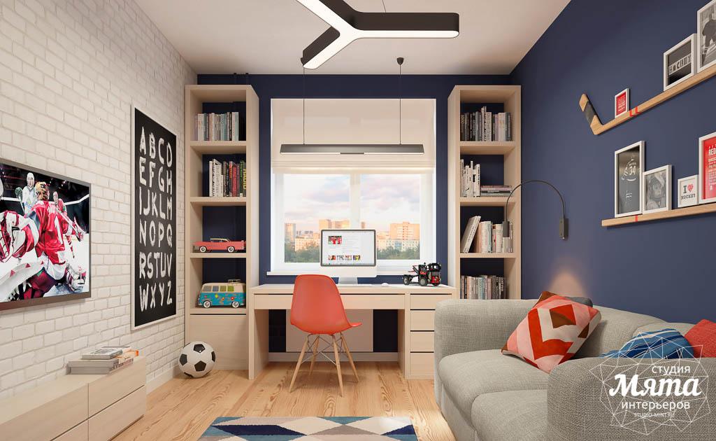 Дизайн интерьера детской комнаты в ЖК Антарес img1366286267