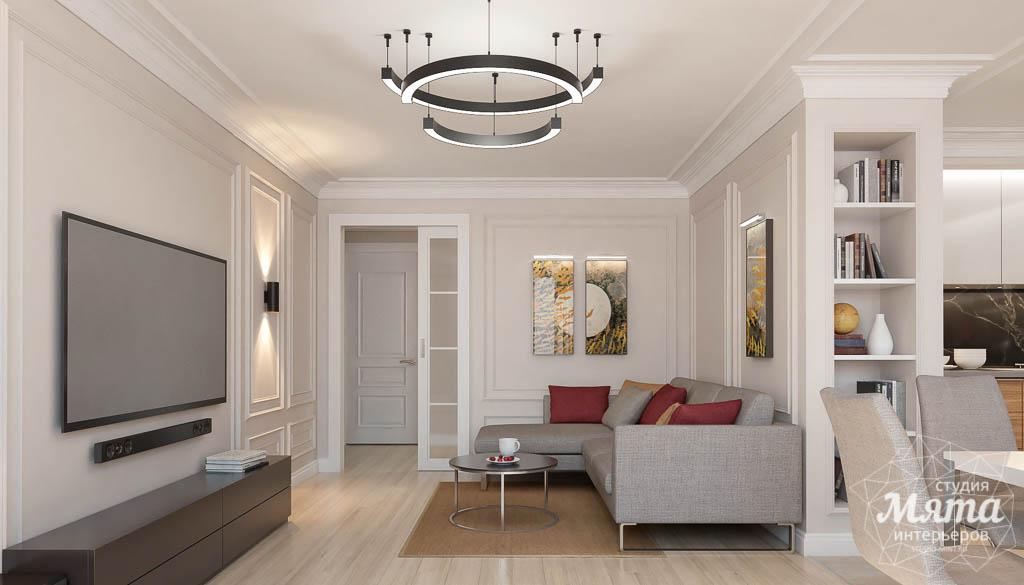 Дизайн интерьера трехкомнатной квартиры в ЖК Малевич img235969282