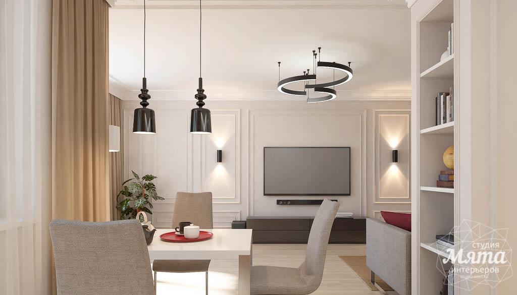 Дизайн интерьера трехкомнатной квартиры в ЖК Малевич img1859781118