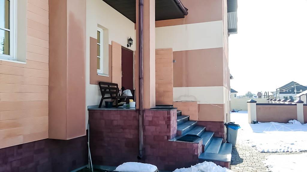 Дизайн проект фасада дома 215 м2 в п. Санаторный 2