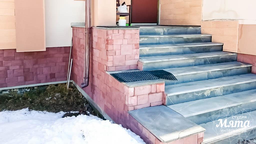 Дизайн проект фасада дома 215 м2 в п. Санаторный 3