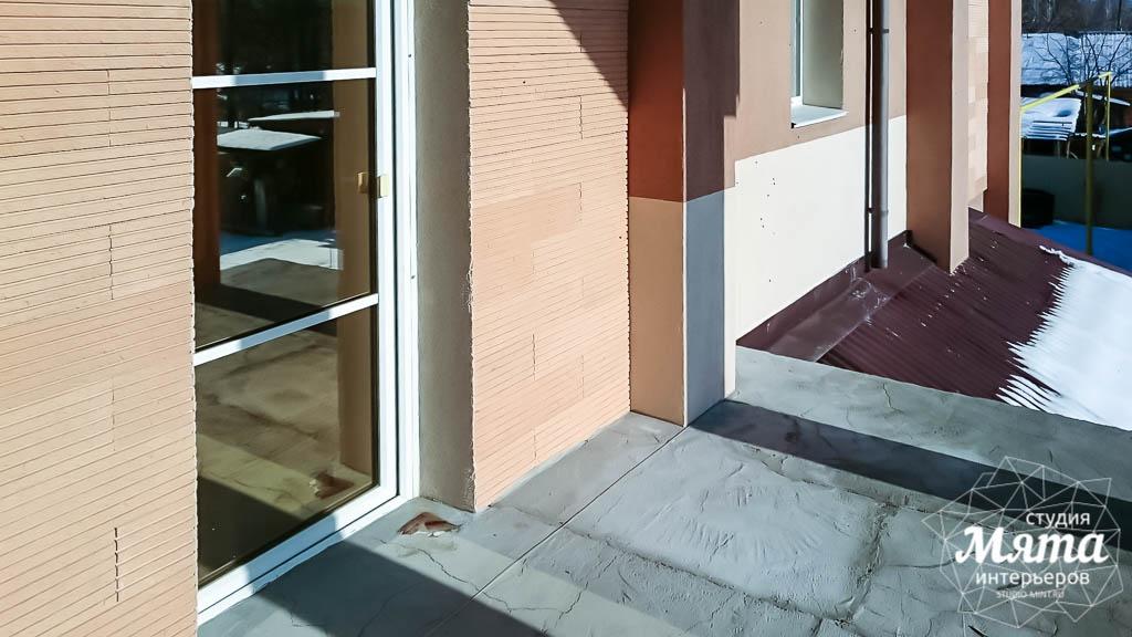 Дизайн проект фасада дома 215 м2 в п. Санаторный 21
