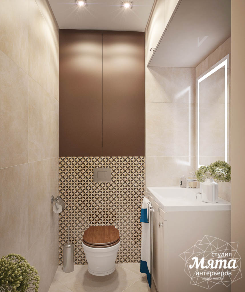 Дизайн-проект двухкомнатной квартиры в ЖК Чемпион Парк img1077432649