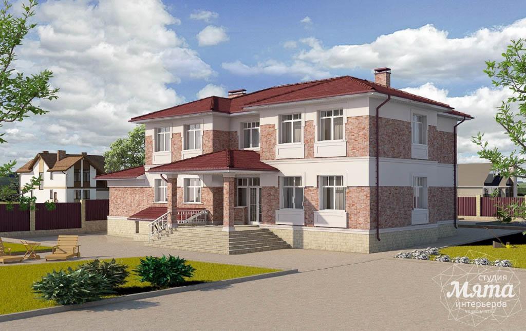 Дизайн фасада коттеджа 379 м2 в п. Мельница img16194411
