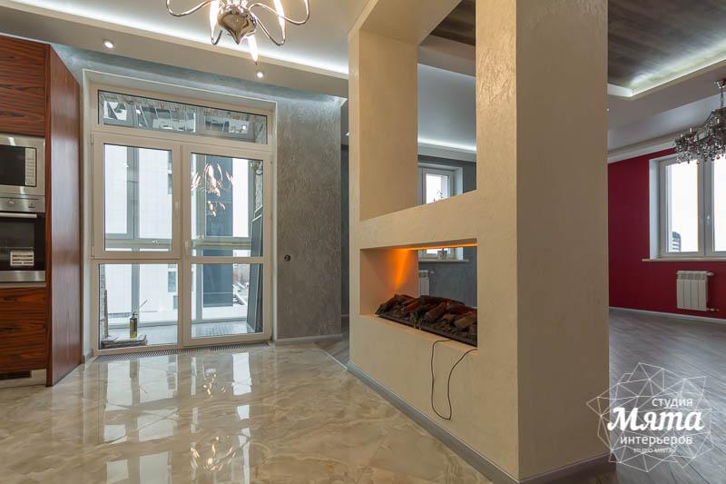Дизайн интерьера и ремонт трехкомнатной квартиры по ул. Татищева 49 15