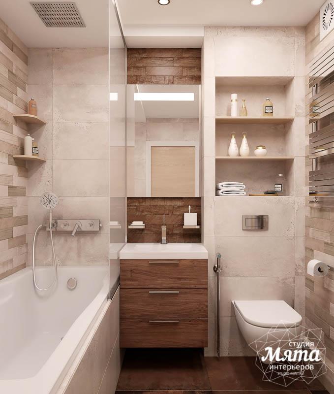 Дизайн интерьера двухкомнатной квартиры в ЖК Солнечный img471559888