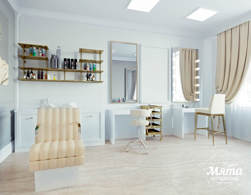 Дизайн интерьера и ремонт салона красоты в ЖК Флагман img994854615