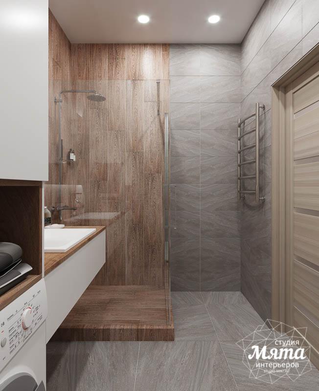 Дизайн интерьера ванных комнат двухуровневой квартиры в ЖК Современник img1160918041