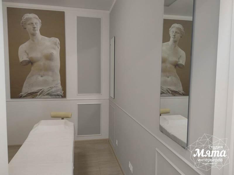 Дизайн интерьера и ремонт салона красоты в ЖК Флагман 22