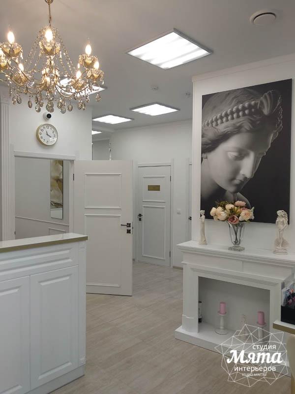 Дизайн интерьера и ремонт салона красоты в ЖК Флагман 1