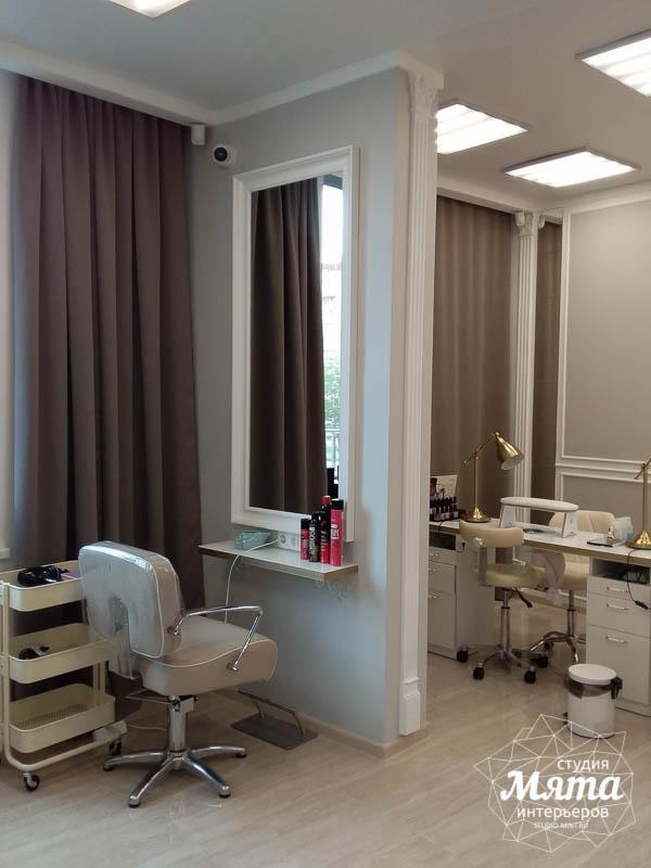 Дизайн интерьера и ремонт салона красоты в ЖК Флагман 18