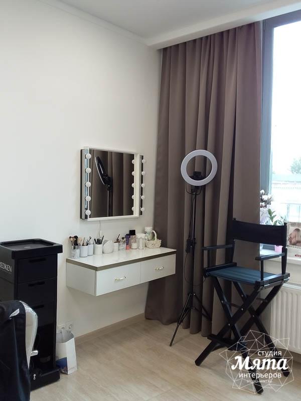 Дизайн интерьера и ремонт салона красоты в ЖК Флагман 19