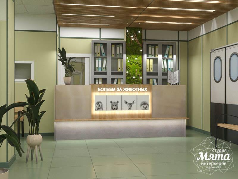 Дизайн интерьера ветеринарной станции г. Екатеринбурга img218869602