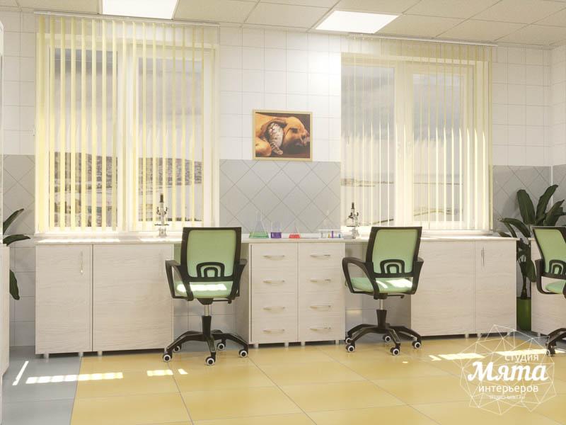 Дизайн интерьера ветеринарной станции г. Екатеринбурга img828683800