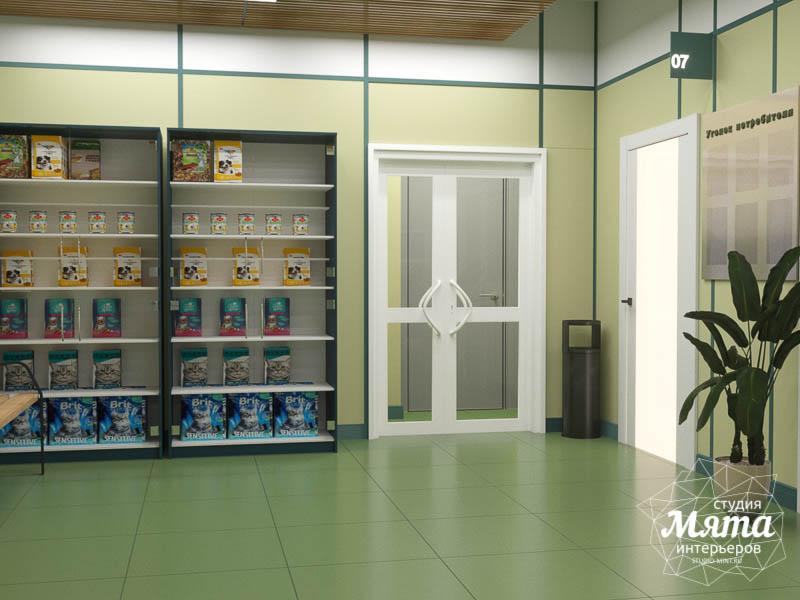 Дизайн интерьера ветеринарной станции г. Екатеринбурга img788170247