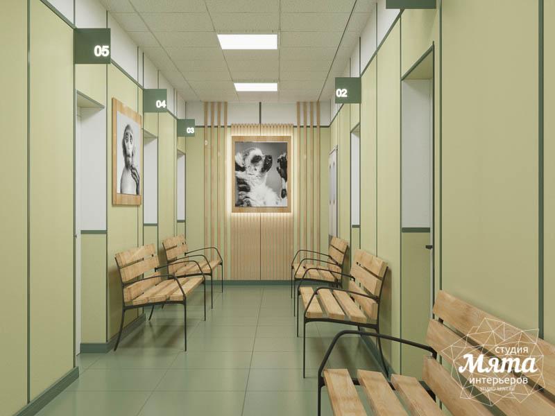 Дизайн интерьера ветеринарной станции г. Екатеринбурга img771154425