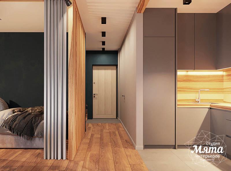 Дизайн интерьера квартиры - студии в ЖК Солнечный img1837681353