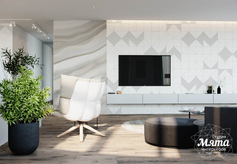 Дизайн интерьера трехкомнатной квартиры в ЖК Чемпион Парк img2077408377