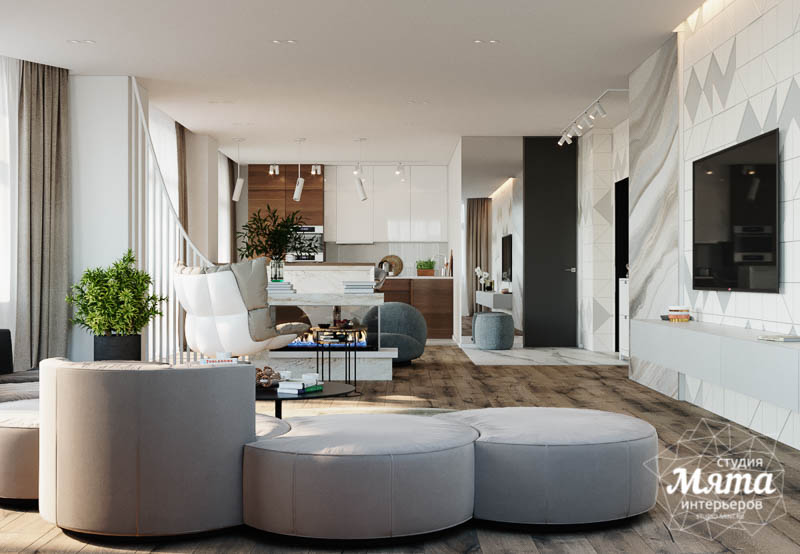 Дизайн интерьера трехкомнатной квартиры в ЖК Чемпион Парк img623847020