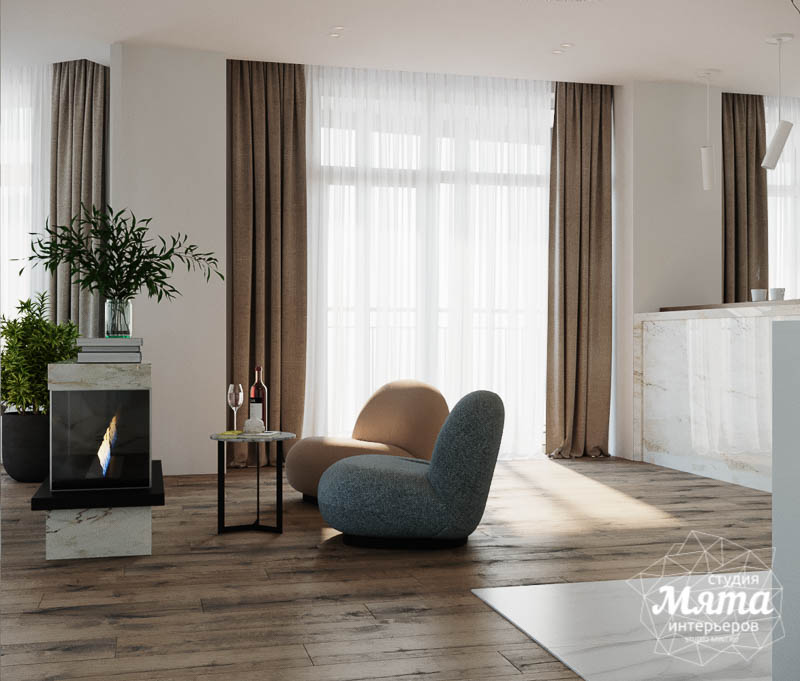 Дизайн интерьера трехкомнатной квартиры в ЖК Чемпион Парк img534845859