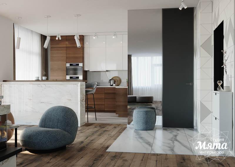 Дизайн интерьера трехкомнатной квартиры в ЖК Чемпион Парк img97143040