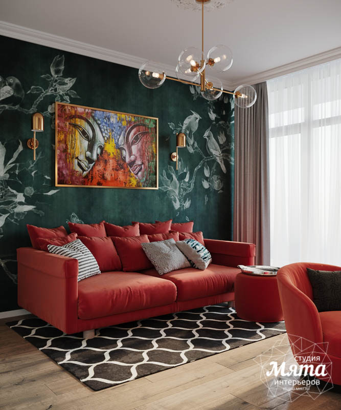 Дизайн интерьера трехкомнатной квартиры в ЖК Чемпион Парк img1789305045