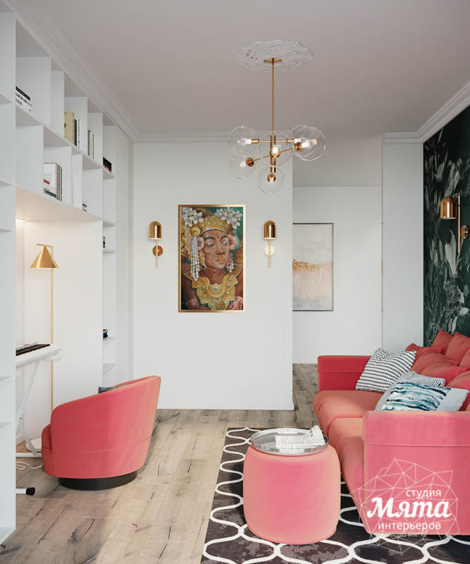 Дизайн интерьера трехкомнатной квартиры в ЖК Чемпион Парк img1831830091