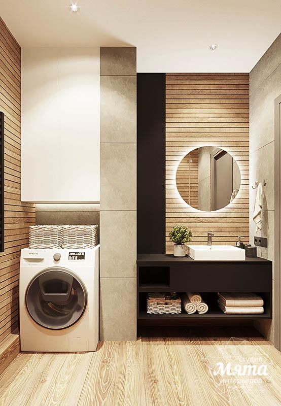 Дизайн интерьера квартиры - студии в ЖК Гринвуд img387658989