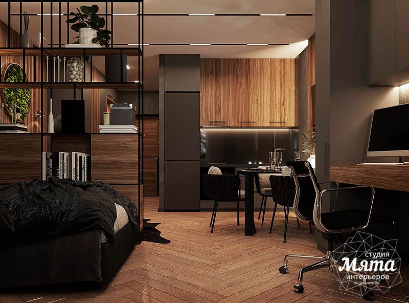Дизайн интерьера квартиры - студии в ЖК Гринвуд img253667277