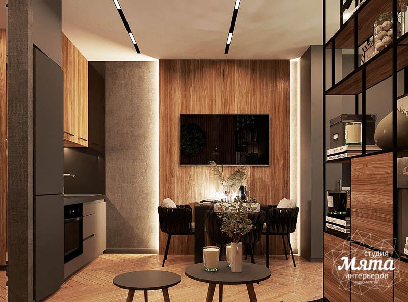 Дизайн интерьера квартиры - студии в ЖК Гринвуд img926640727