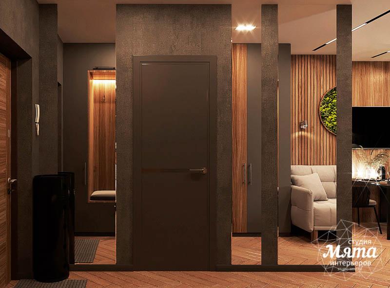 Дизайн интерьера квартиры - студии в ЖК Гринвуд img88549845