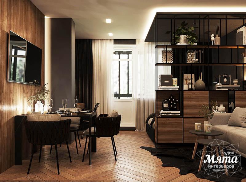 Дизайн интерьера квартиры - студии в ЖК Гринвуд img942010377